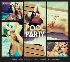 POOL PARTY feat. INCOGNITO, GREEN LAB, NORA EN PURE, 10CC, MOLOKO, 3 CD NEW+