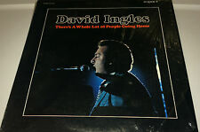 DAVID INGLES..THERE'S A WHOLE LOT OF PEOPLE GOING HOME Gospel LP (c0ver rated 9)