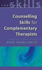 Counselling Skills for Complimentary Therapists-ExLibrary