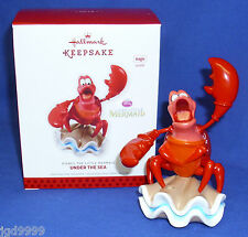 Hallmark Ornament Disney The Little Mermaid Under the Sea 2013 Sebastian Crab