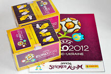 Panini EM Euro 2012 INTERNATIONAL VERSION: 2 x BOX DISPLAY + Leeralbum ALBUM
