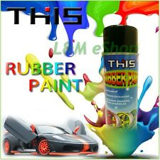 1  Rubber Coat Dip Paint Plastic Rubber Coating Spray 450ml - SKY BLUE MATT
