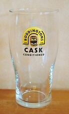 Boddingtons Cask Conditioned Bitter Beer Pint Glass Pub Home Bar Used