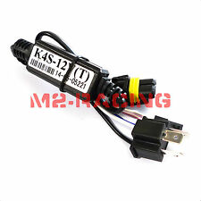 1pc Relay Wiring H4/9003 Bi-Xenon Hi/Lo Motorcycle HID Kit Harness Controller