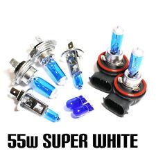 Ford Fiesta Mk7 1.6 55w Super Blanco Xenon Hid main/dip/fog / Lateral bombillas Set