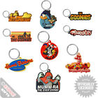 PVC Keyrings Retro Novelty Various Designs Cool Funky Goonies Thundercats 90s
