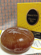 Vintage 1990s Dolce Vita Perfumed Soap 3.5 oz 100 g Christian Dior FIRST VERSION