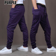 New Men's Slim Fit Tracksuit Bottoms Skinny Jogging Joggers Sweat Pants Trousers