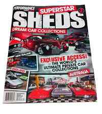 SUPERSTAR SHEDS MAGAZINE - #3, CHRYSLER, MONARO, HOLDEN, TORANA, FORD, MAN CAVES