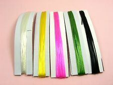 10M x ELASTIC Stretch MAGIC Beading Thread CORD ~5 Colors (2M of each) or Clear~