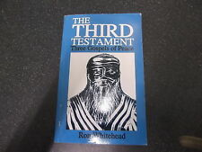 THE THIRD TESTAMENT. THREE GOSPELS OF PEACE  by RON WHITEHEAD** UK POST £3.25 **