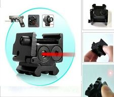 Hunting Hot Compact 650nm Red Laser Sight Dual Weaver Rail Mount For Pistol Gun