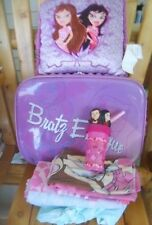 ULTIMATE BRATZ FAN SLEEPOVER Suitcase on Wheels SET Twin Sheets/Extra Case/Throw