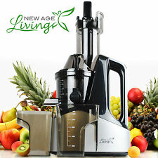 New Commercial Slow Juicer Masticating Cold Press Machine Fruit Vegetable U