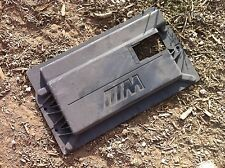 2000-2003 BMW E39 M5 original rear plastic trunk battery cover storing partition