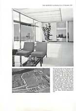 1959 Door, Entrance Hall, Factory, Wigan : J Douglass Mathews & Partners