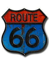 ROUTE 66 metallo sign.drive ROUTE 66 USA, storica ROUTE 66, Americas madre strada.