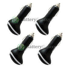 "4 Black USB Car Charger IOS9 1.5A Adapter for Apple iPhone 6 6s Plus 4.7"" 5.5"""