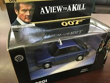 Corgi Toys 1:36 JAMES BOND 007 RENAULT 11 TAXI Movie A VIEW TO A KILL CC06401 MB