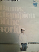 New Guardian Magazine DANNY BOYLE LONDON 2012 OPENING CEREMONY OLYMPICS JO WOOD