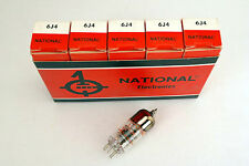 5 Pcs NOS National 6J4 - audio radio Preamp Tubes NIB
