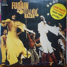 michel fugain et le big bazar 3 LP lot- DBL live & NO. 2 - made in israel - NM