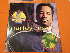 "MARLEY MARL (Portia & MC Cash) - CHECK THE MIRROR/AT THE DROP OF A DIME - 12"" NM"