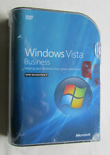 *NEW* MICROSOFT Windows Vista Business 32 bit Version Full Retail UK 66J-06359