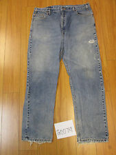 levi 505 USA destroyed feather grunge jean tag 42x32 Meas 38x32 20078F