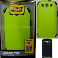 OtterBox Commuter Samsung Galaxy S3 Slim Case Cover Lime Green, 77-21386