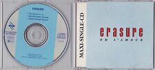Erasure - Oh L'Amour - Scarce 1988 German 3 track Maxi CD single