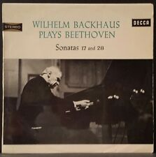 DECCA SXLA 6063 WB BEETHOVEN PIANO SONATAS 28 & 31 BACKHAUS ORIG AUS 1ST PRESS