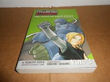 Fullmetal Alchemist NOVEL vol. 3 The Valley of the White Petals Book in English