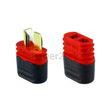 Amass Sheathed T-Plug Dean Male & Female Connectors for RC Lipo Battery New UK