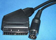 1m Monitor Lead/Cable for Acorn BBC B Micro 6Pin DIN to TV/Monitor RGB Scart