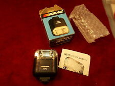 NEW OLD STOCK, VTG ZYKKOR 190 ELECTRONIC FLASH & BOX & PAPERS, MINT CONDITION