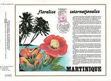 DOCUMENT CEF PREMIER JOUR 1979 FLORALIES INTERNATIONALES LES 3 ILETS MARTINIQUE
