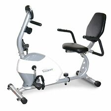 BRAND NEW! Velocity Exercise Magnetic Recumbent Bike With Large Console Display