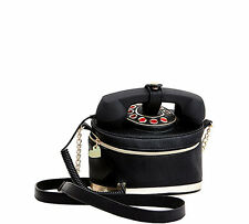 "NWT Betsey Johnson Black ""Kitch Telephone Crossbody Bag"" SOLD OUT EVERYWHERE !!!"