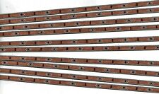 10 STRIPS LUTHIER  BINDING / BACK SEAM, MARQUETRY INLAY BANDING, (BS-213)