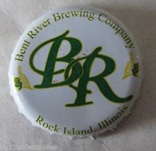 BENT RIVER BREWING CO ROCK ISLAND ILLINOIS USED MICRO CRAFT BEER CAP
