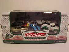 5 pack Krispy Kreme Dougunts Scene Diecast 1:64 Greenlight 3 inch Motor World