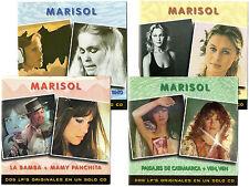 MARISOL     8 LP's Originales en 4 SPAIN CDs  BMG  1999   Very Hard To Find !!!
