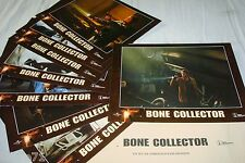 BONE COLLECTOR  ! angelina jolie  jeu 8 photos cinema lobby cards fantastique