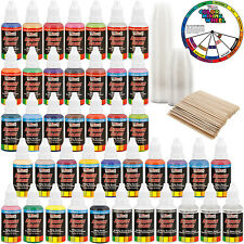 U.S. Art Supply® 36 Color 1oz Deluxe Airbrush Acrylic Paint Set