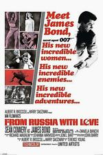 "JAMES BOND POSTER ""FROM RUSSIA WITH LOVE # 2"""