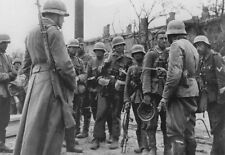 WW2 Photo German Troops SVT40 Stalingrad WWII Russia