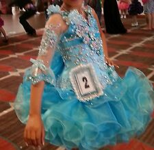 Glitz Pageant Dress Girls Size 6-7