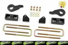 "2001-2010 Chevrolet Silverado GMC Sierra 2500HD 2"" Zone Offroad Lift Kit 4x4"