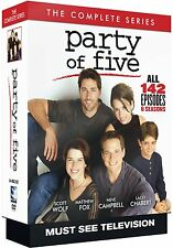 Party of Five Complete Series 1-6 DVD Set Collection TV Show Episodes Box R1 Lot
